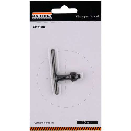 Chave P/ Mandril 10mm(3/8) S1 Starfer