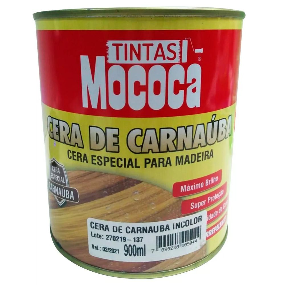 Combo Cera Carnaúba Especial Madeira Geral + Kit Brindes