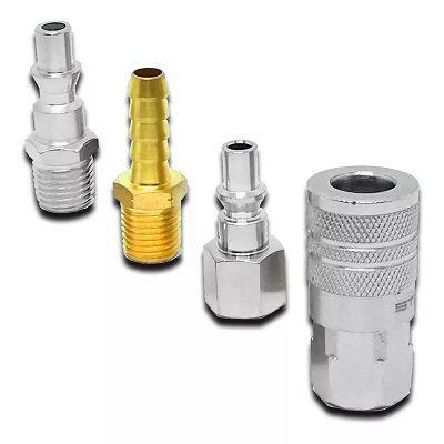 Conectores para Pneumatico Engate rapido 4 Pçs Sltes