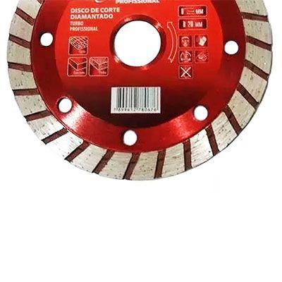 Disco De Corte Diamantado 115 X 22,2 Segmentado Corte Seco