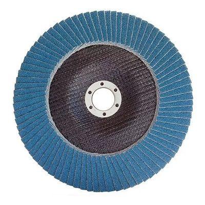 disco flap de 80#  zirconio titanium 4 1/2