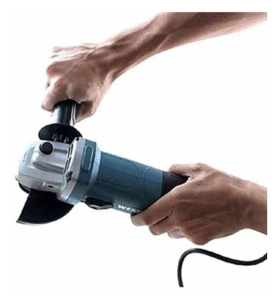 Esmerilhadeira Angular Profissio 4.1/2 750w 115mm Wesco 110v