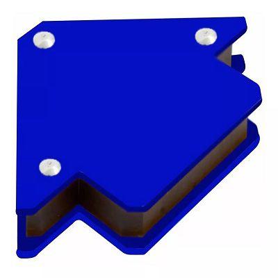 Esquadro Magnético Para Solda Melhor Ima 12kg Axt Seralheiro