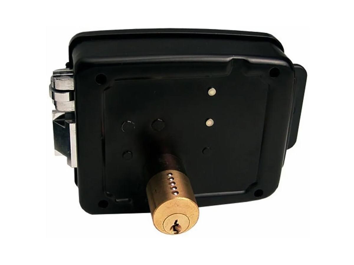 Fechadura Reversível Elétrica Interfone Portão Dentro E Fora