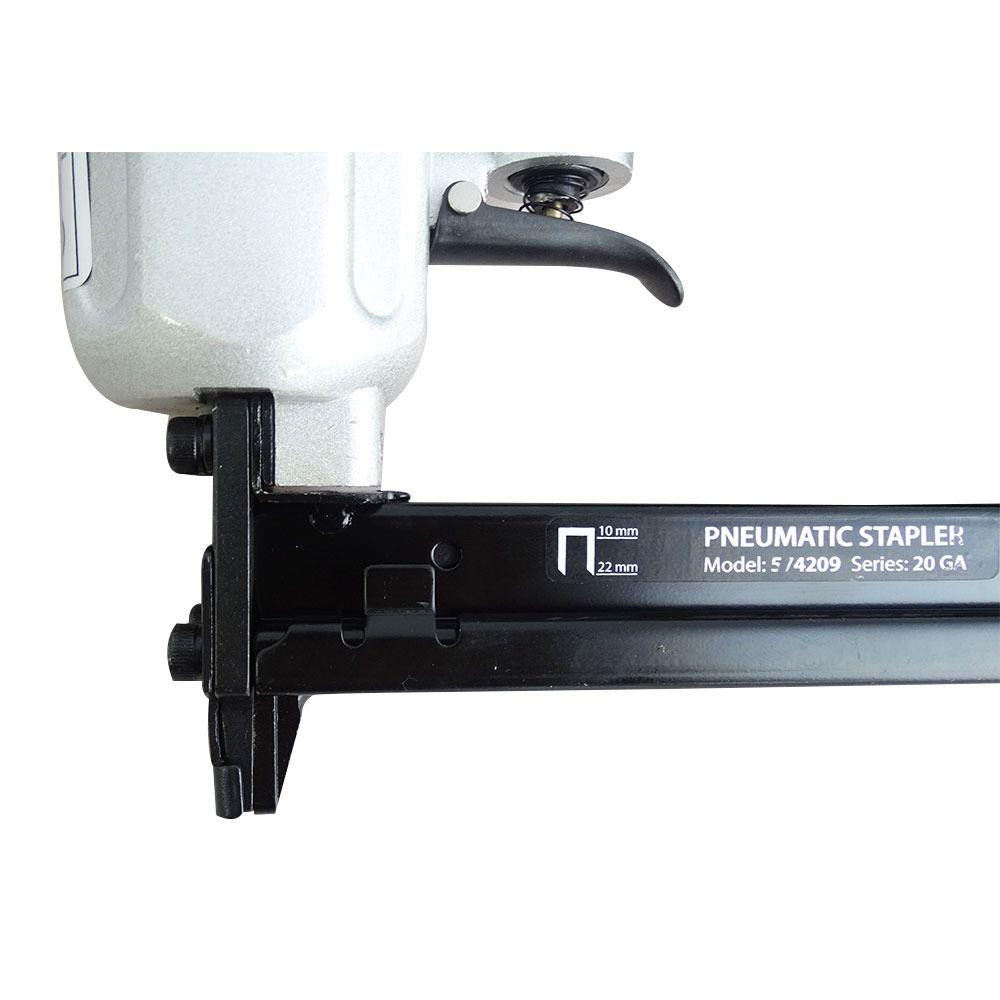 Grampeador Pneumático Para Grampos 10 A 22 Mm Mtx