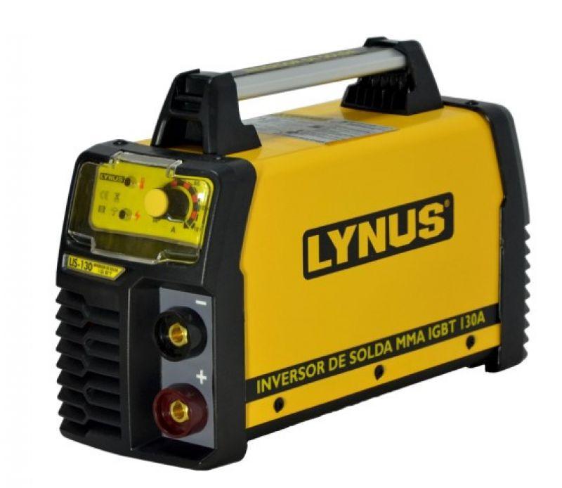 Inversora De Solda Eletrodo 130a Lis-130 Lynus Maquina