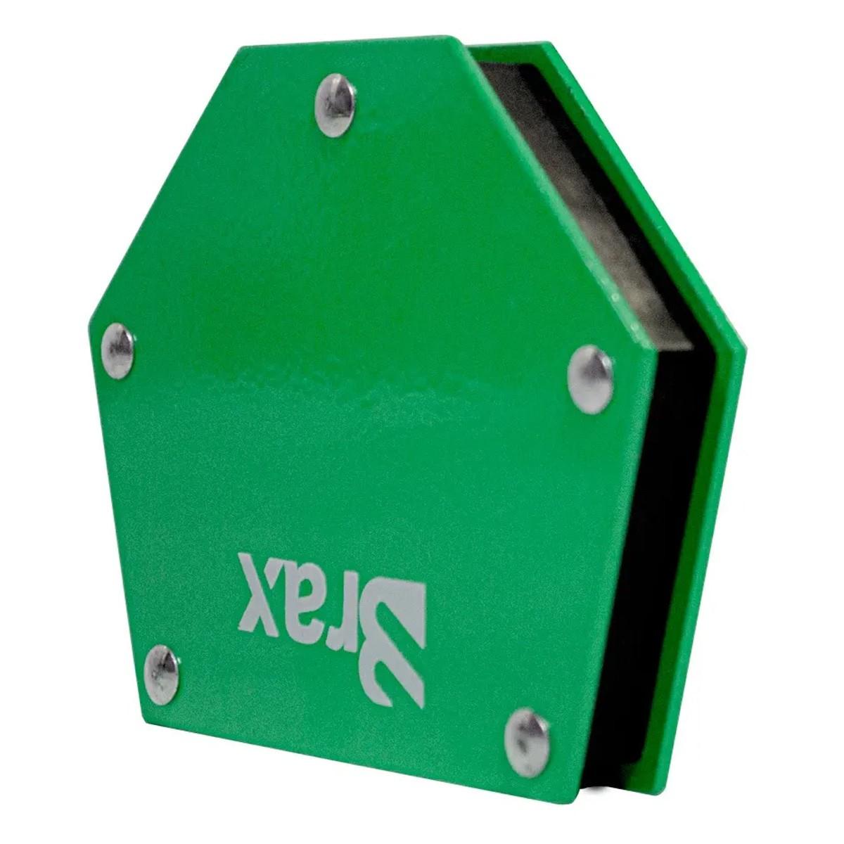 Kit 2 Esquadro Magnético 25 E 35kg / 3 Grampos Marceneiro C