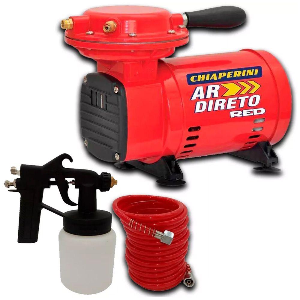Kit Acessórios Pistola Pintura Compressor Ar Direto Bivolt