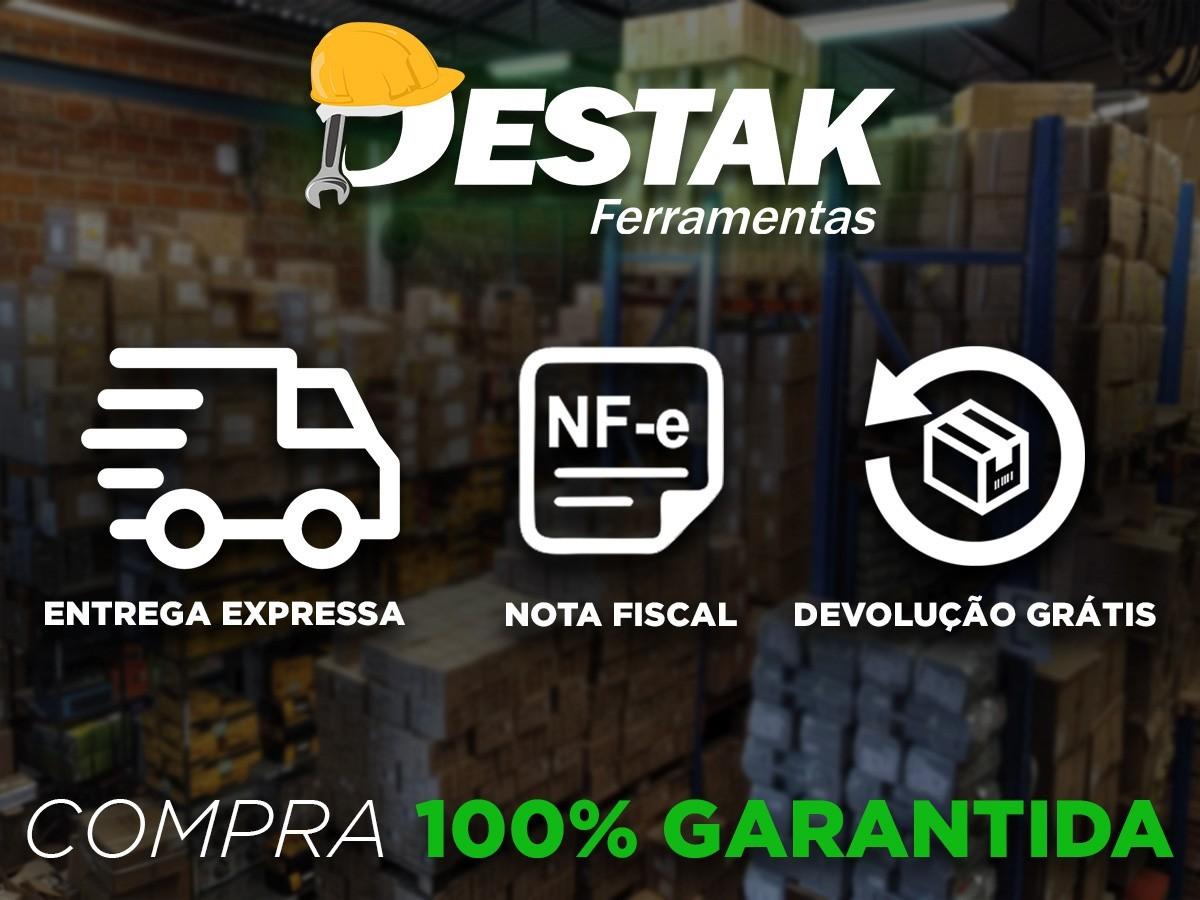 Kit Serra Meia Esquadria Carpinteiro Manual Precisão 420mm + Grampeador Tapeceiro Alta Pressão