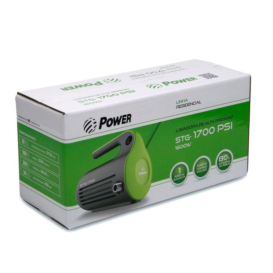 Lavadora de Alta Pressão POWER STG 1700 220V