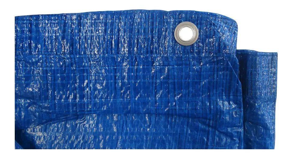Lona Leve 5x3 Azul Starfer 1° linha reforçado p/ multiuso