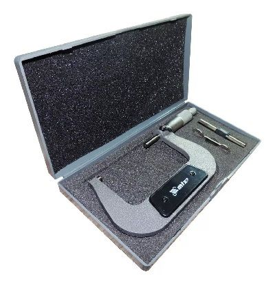 Micrometro Mecânico 75 - 100 Mm C/ Estojo Mtx