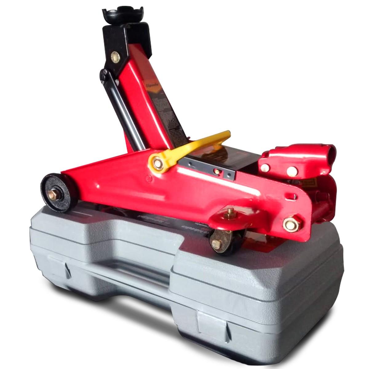 Mini Macaco Jacarézinho Hidraulico 2t/maleta + Mega Brindes