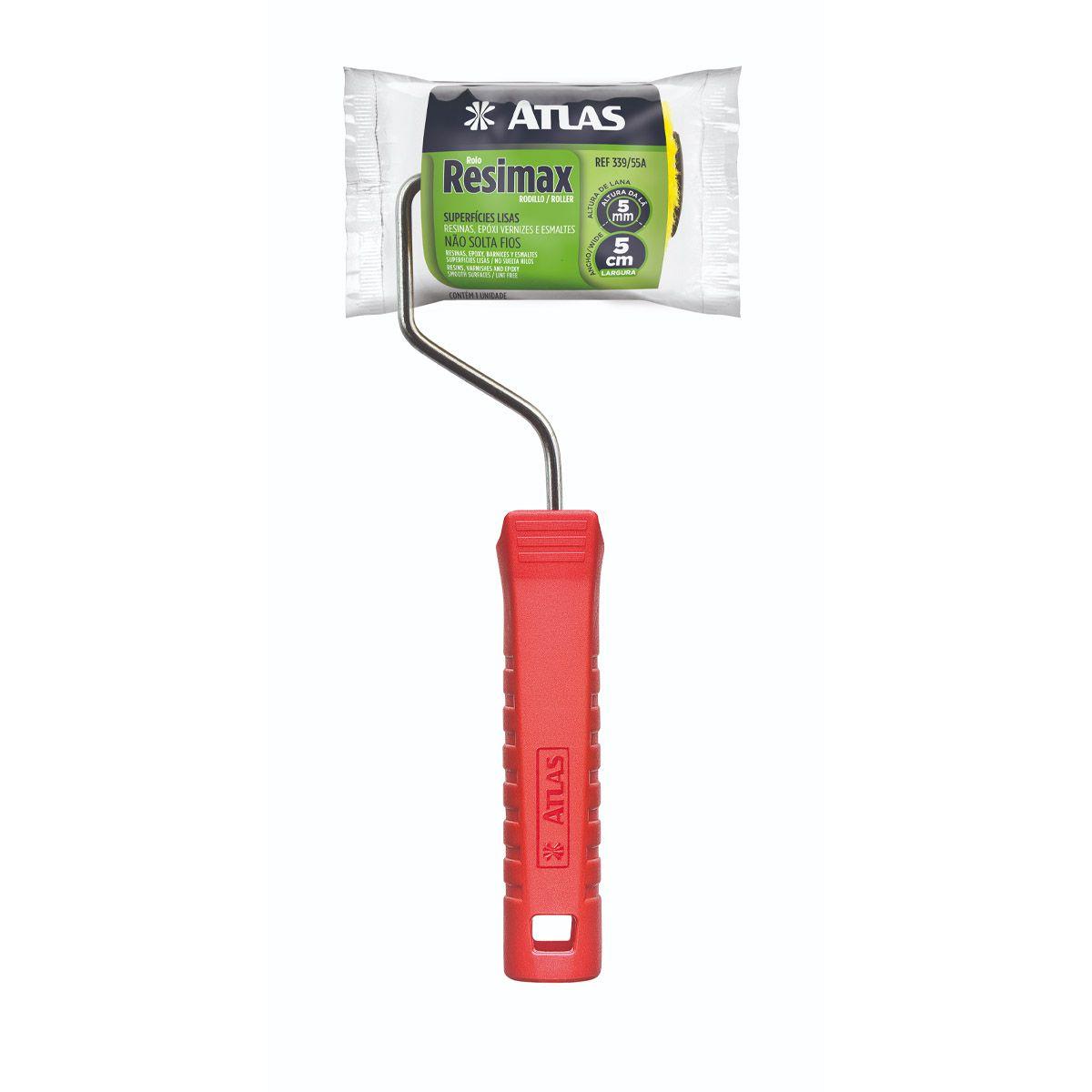 Mini Rolo Resimax 5cm Atlas 339 C/cabo