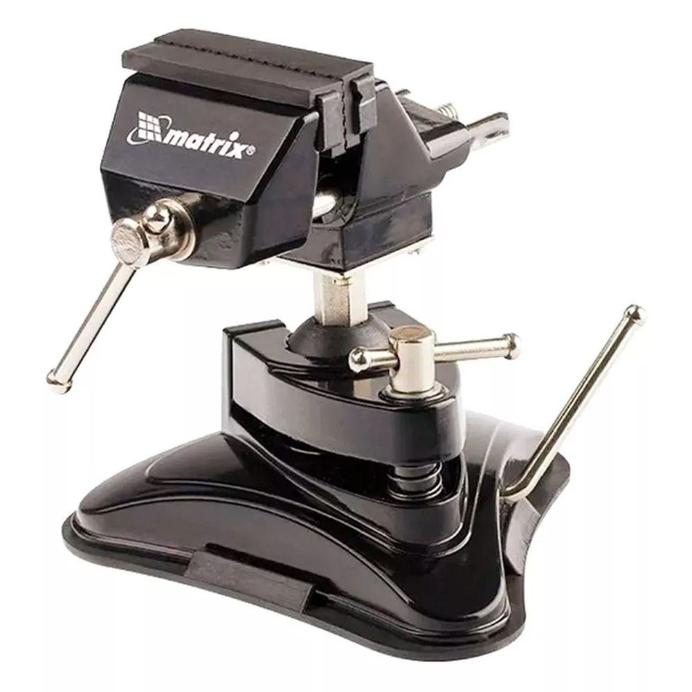 Mini Torno De Sucção 360° Inclinável 70mm + Paquimetro