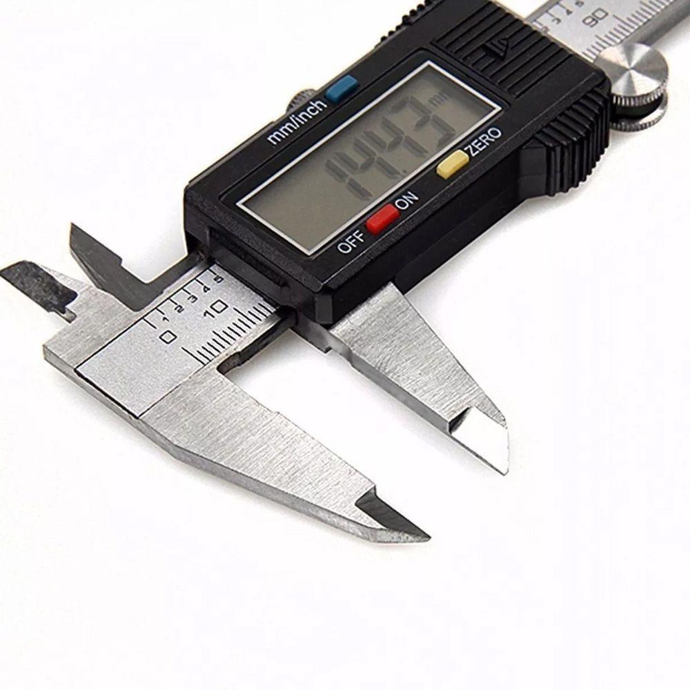 Paquímetro Digital 150mm Inox + Micrometro 25-50