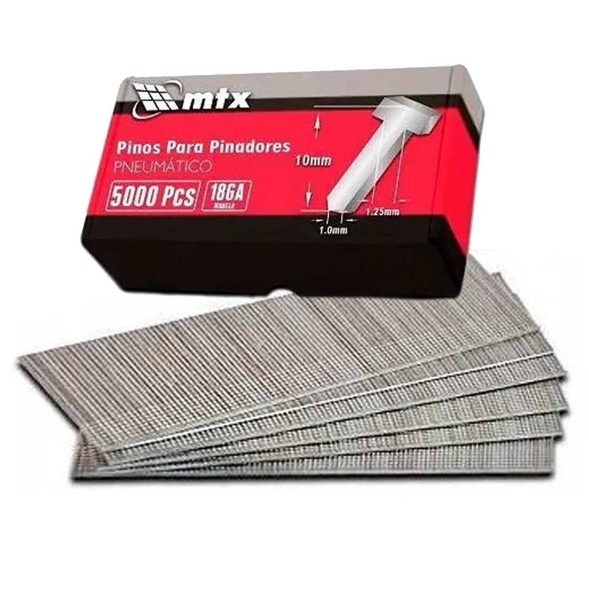 Pinos Prego 10mm Para Pinadores Pneumáticos Caixa 5000 pçs