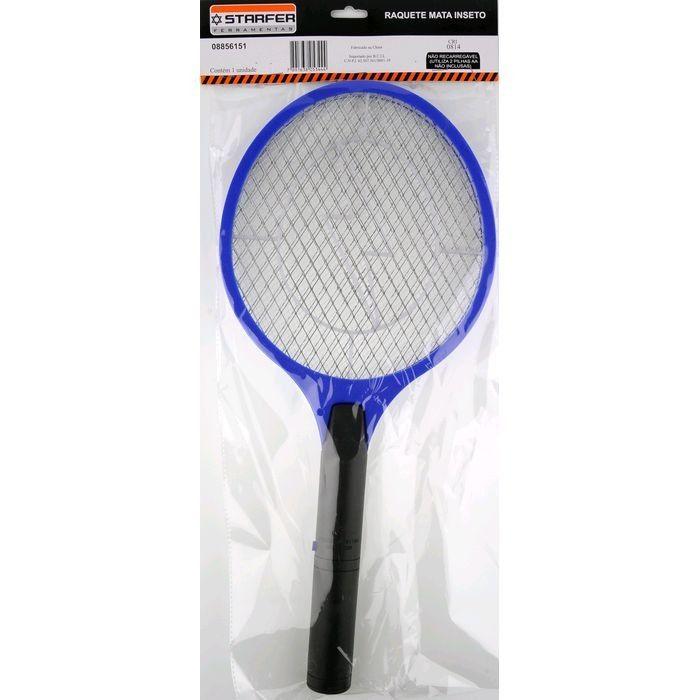 Raquete Elétrica Mata Moscas Mosquito Insetos A Pilhas