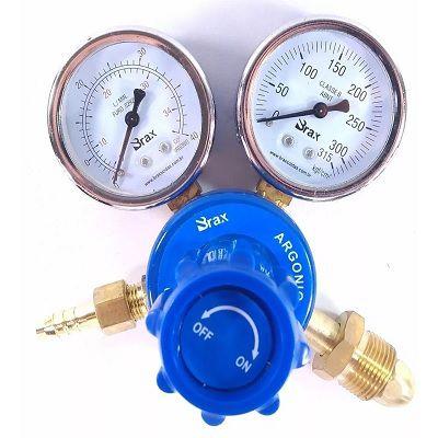 Regulador De Pressão Argônio Gás Brax Soldas