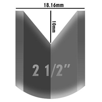 Roldana Aço Para Portão De Correr Canal V 2 1/2 Com Caixa