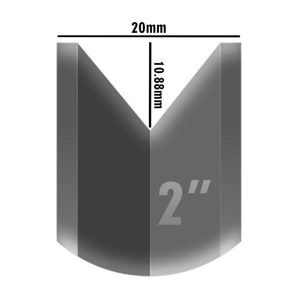 Roldana Aço Portão Correr Deslizante C/rolamento 2 Polegadas Canal V - 4 Unidades