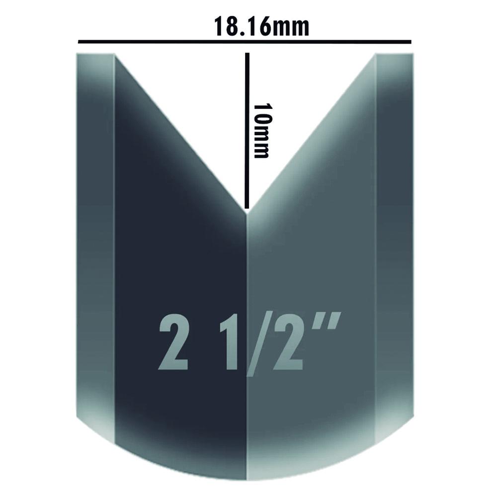 Roldana Para Portão Canal V C/ Rolamento E Bucha 3 Polegadas