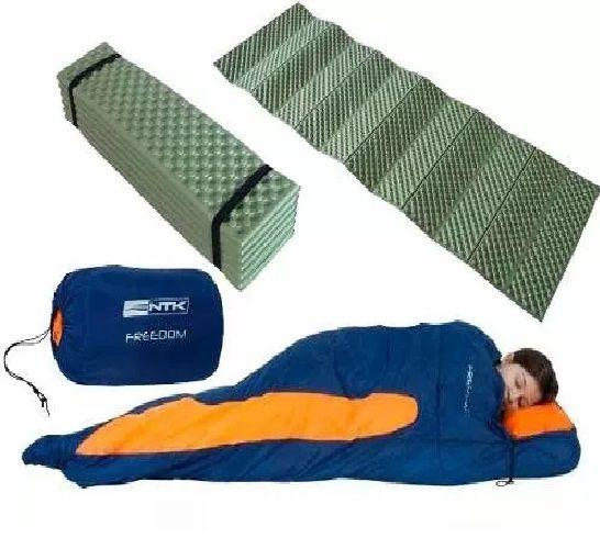 Saco De Dormir Freedom -1,5ºc À -3,5ºc+ Isolante Termico Ntk