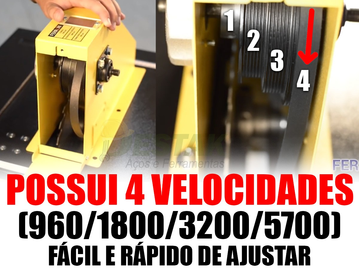 Serra Bancada Multi-função 7 Funções Mf7 Ferrari Gold Forte 220v