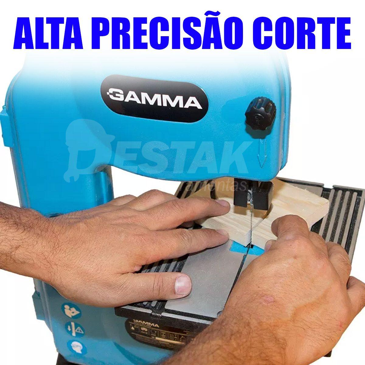Serra De Fita Bancada Para Madeira 250W G121  Gamma