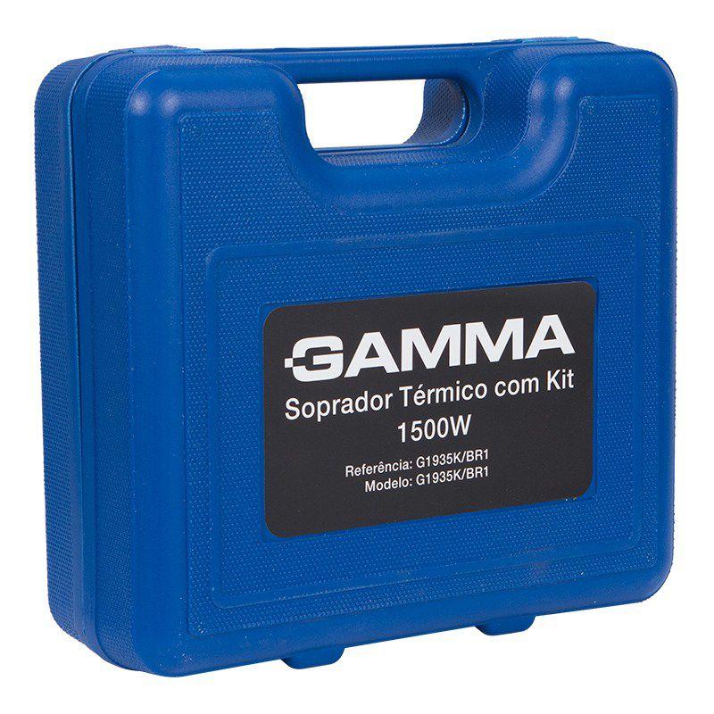 Soprador Termico 110v C/ Kit Acessorios Gamma G1935k/br1