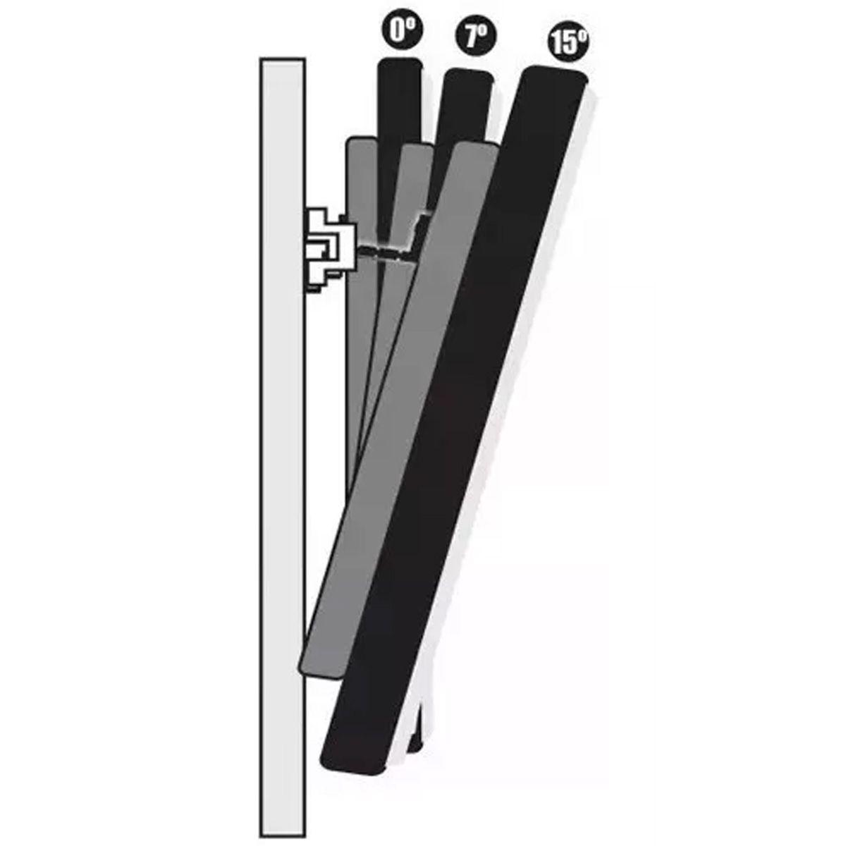 Suporte C/ Inclinação P/ Tv's De 14 Pol 70 Pol até 60 kg