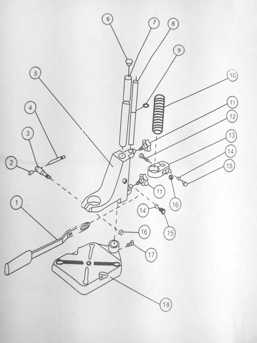 Suporte Para Furadeira Manual 1/2-3/8 C/ Morsa e Fresa