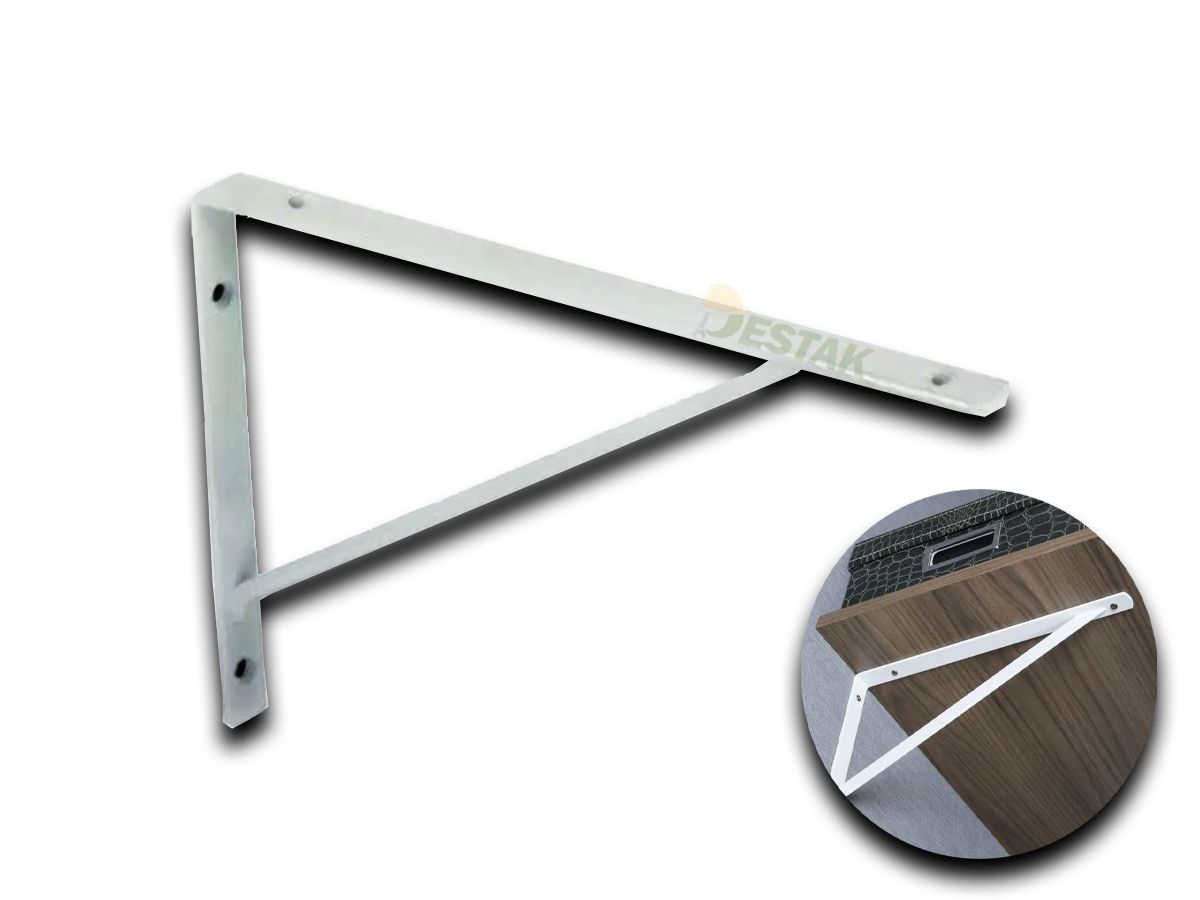 Suporte P/ Plateleira Branco De 30cm Reforçado Gold Starfer