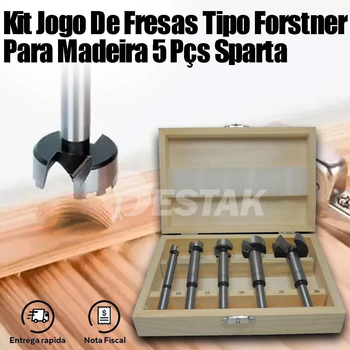Suporte Para Furadeira 1/2 E 3/8 + Maleta Fresa Para Madeira