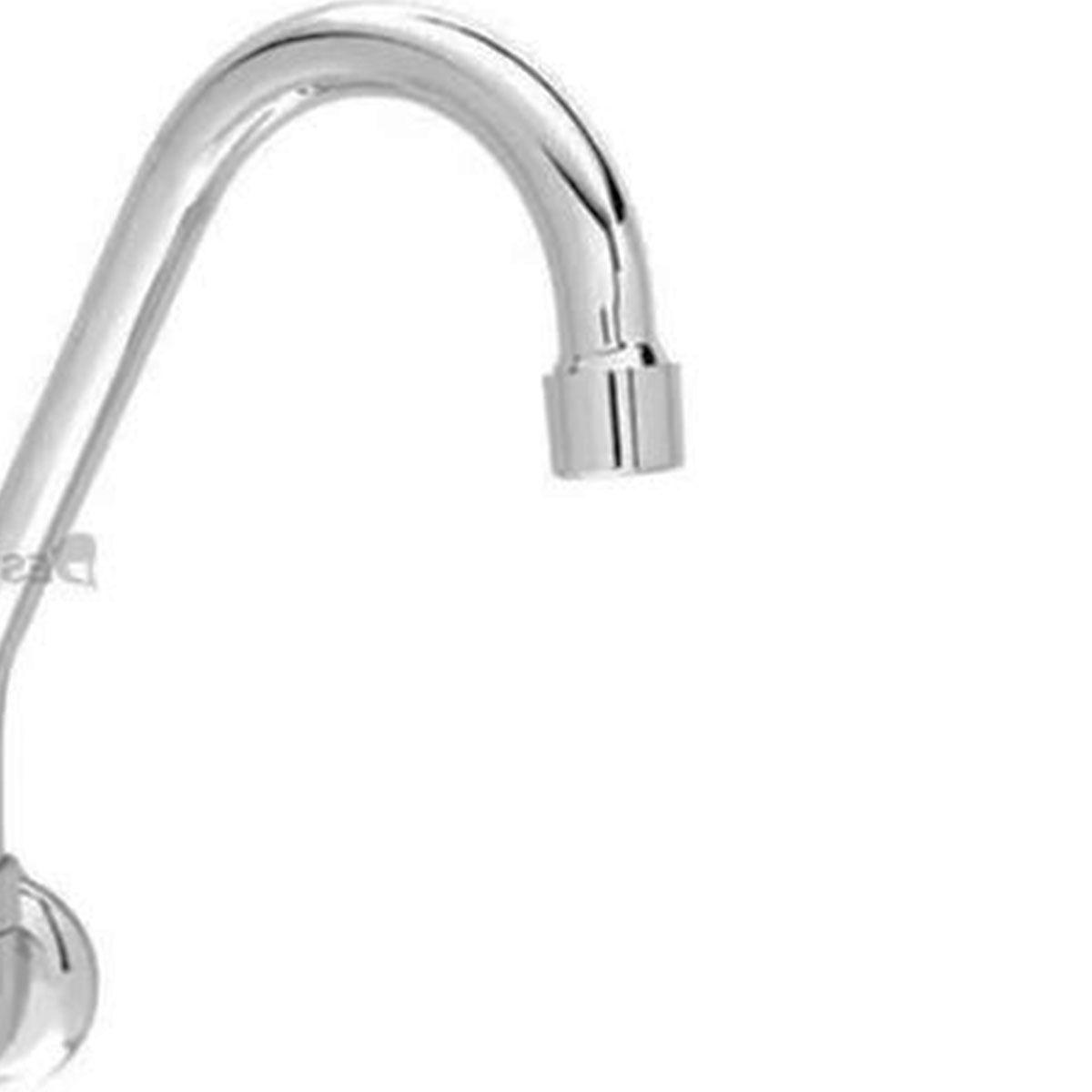 Torneira Lavatório Banheiro Bica Móvel Luxo Metal Cromado