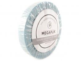 Fita Adesiva Extra Forte Megaplik - Rolo 5,2m Linha Azul