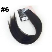 Mega Hair Fita Adesiva Classic Castanho - Cor 6
