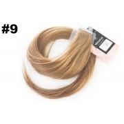 Mega Hair Fita Adesiva Classic Loiro Claro 65cm - Cor 9
