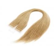 Mega Hair Loiro Fita Adesiva Premium - Cor 9