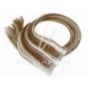 Mega Hair Mechado Fita Adesiva Premium - 65cm #10/613 (cor antiga) SUPER PROMOÇÃO