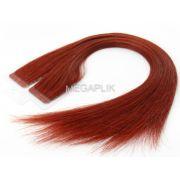 Promoção 20 % Mega Hair Vermelho Fita Adesiva Premium - Cor 98