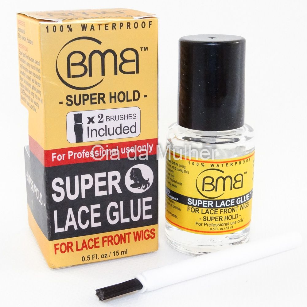 Cola para Próteses, Closures e Perucas Lace - BMB Super Hold Lace Glue
