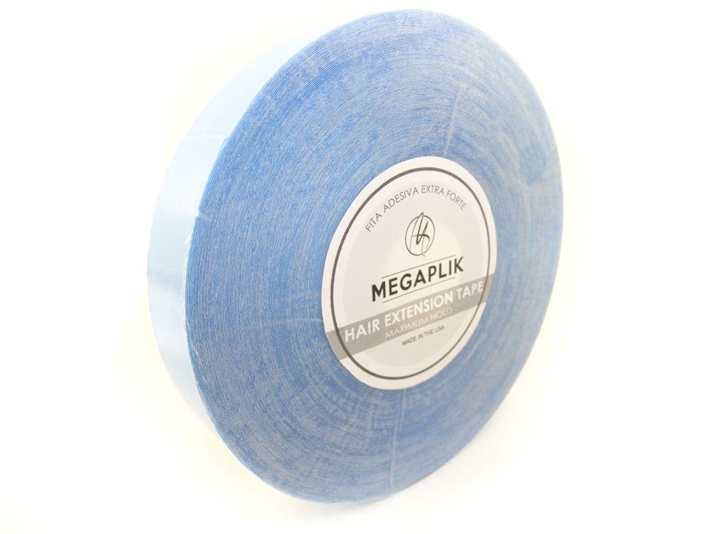 Fita Adesiva Extra Forte Megaplik - Rolo 33m Linha Azul - BRINDE 2 REMOVEDORES