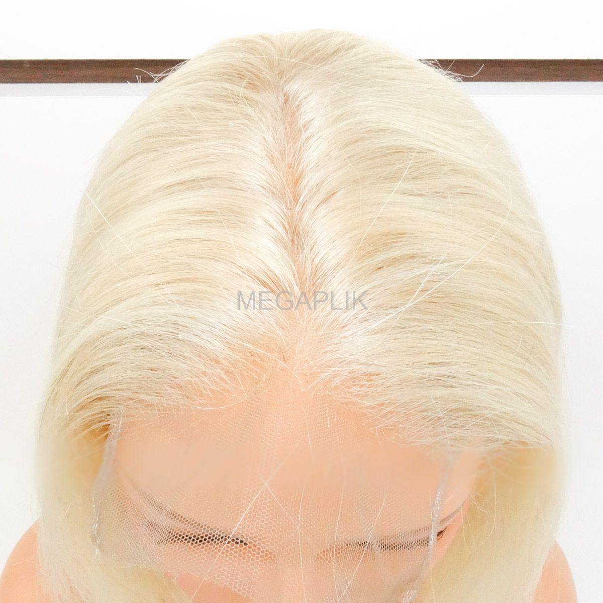 Lace Closure - Aplique de Cabelo Humano para Topo de Cabeça - 50cm