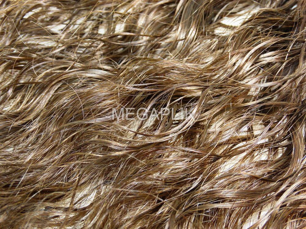 Mega Hair Cacheado Castanho Claro Fita Adesiva Premium - Cor 6