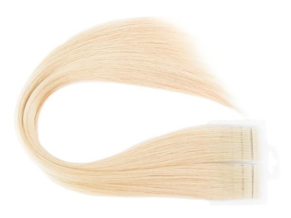Mega Hair Loiro Claríssimo Fita Adesiva Premium - Cor 10