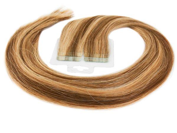 Mega Hair Mechado Fita Adesiva Premium - 65cm #4/27 (cor antiga) SUPER PROMOÇÃO