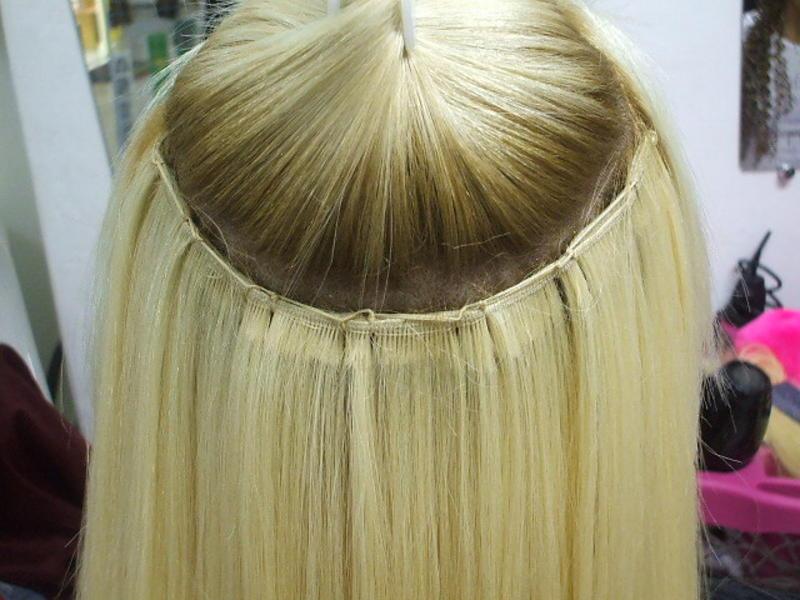 Serviço de Costura de Tela de Cabelo Humano para Mega Hair - envie seu cabelo que fazemos a costura