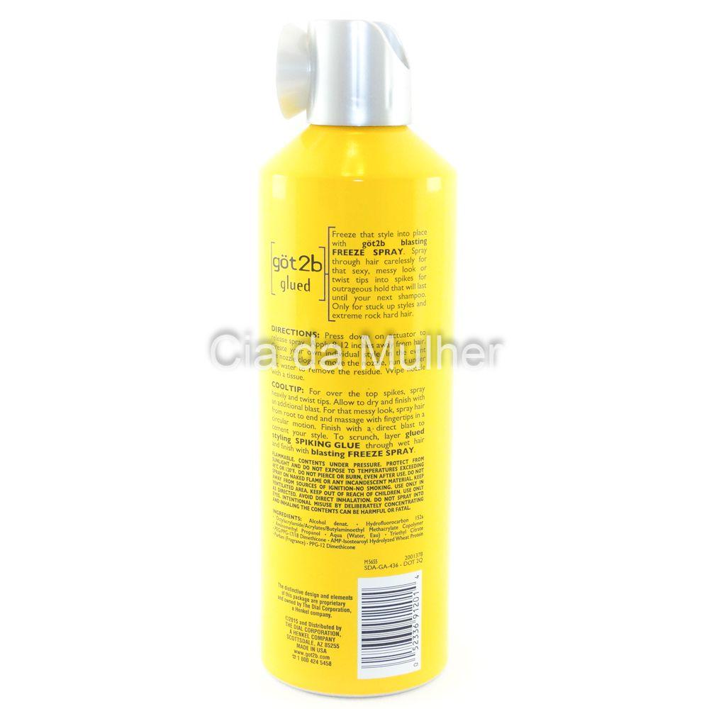 Spray Got2b Glued Schwarzkopf 340g