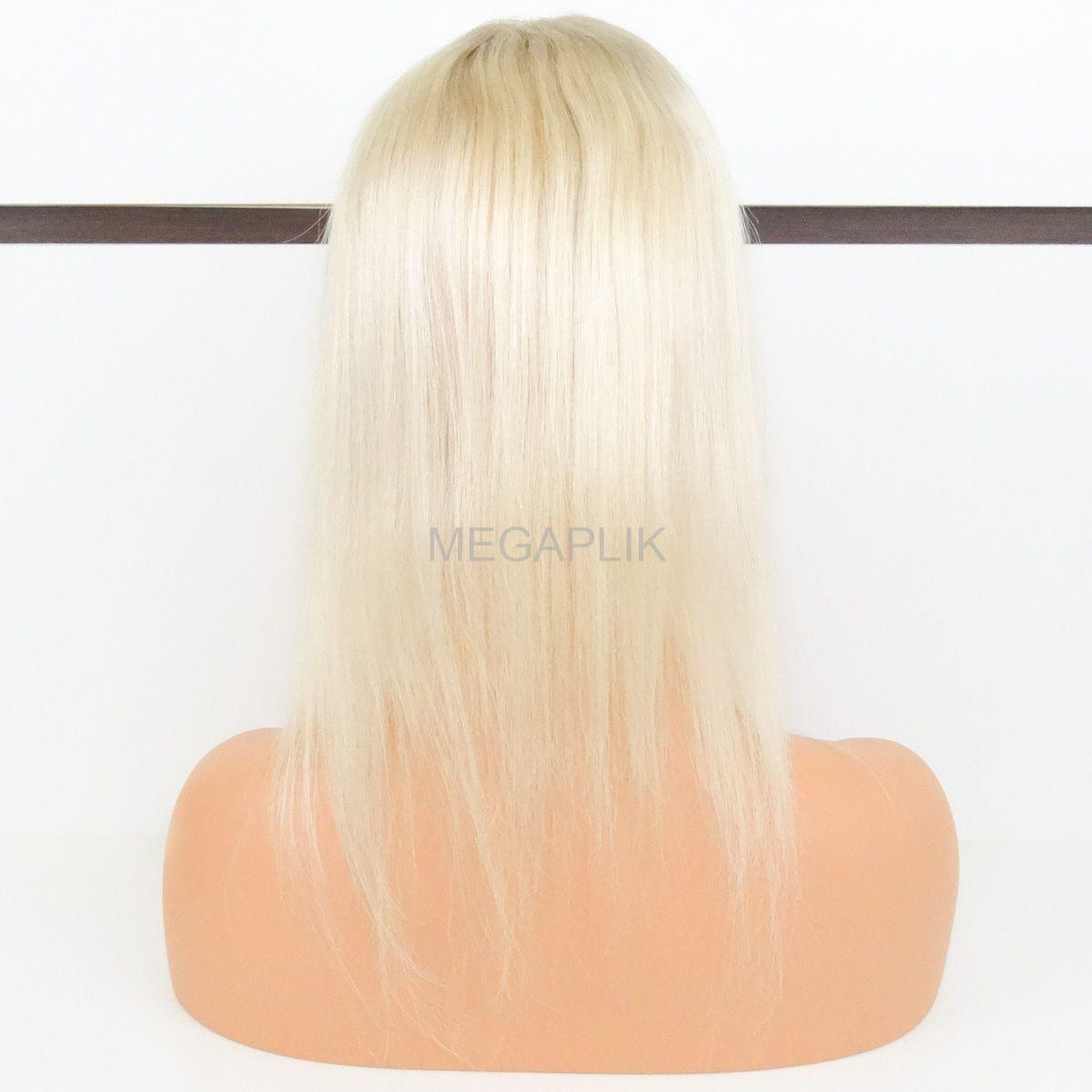 Top Closure Triangular - Aplique de Cabelo Humano para Topo de Cabeça - 50cm